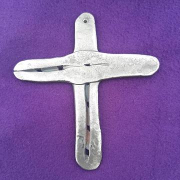 Horseshoe Cross Small Handmade