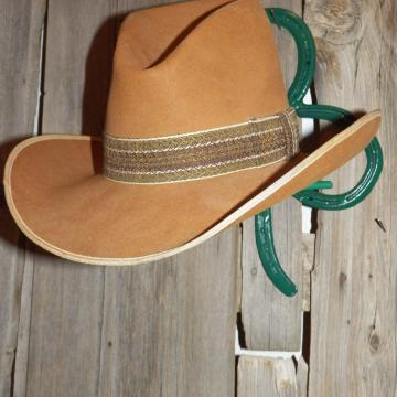 Shamrock Horseshoe Cowboy Hat Rack